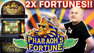 Two HUGE Bonuses = Twice the Fun Playing Pharaoh's Fortune