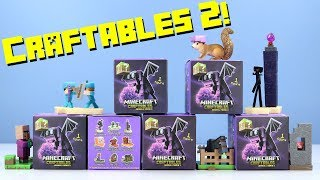 Minecraft Craftables Blind Box Series 2 Complete Collection Review Jinx