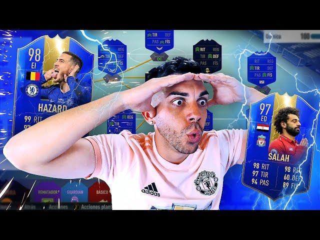 LA MEJOR PLANTILLA PREMIER LEAGUE DE FIFA 19 (15 MILLONES)