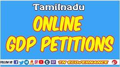 Online GDP Petitions  in Tamil | Tamilnadu