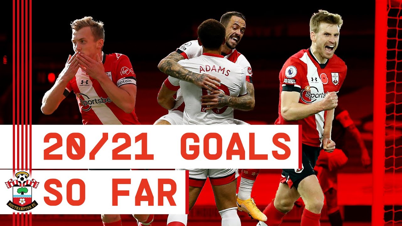 PREMIER LEAGUE 2020/21 | Southampton goals edition