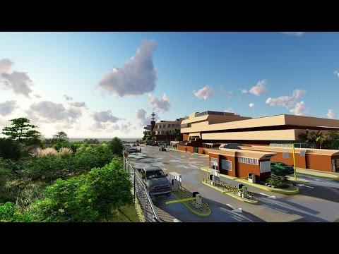 Ampliación del CC Caribbean Mall playa Doral Beach, Puerto La Cruz (OSIC-3D)