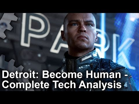 [4K] Detroit: Become Human - The Complete Tech Analysis For PS4/ PS4 Pro