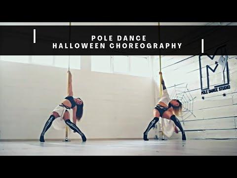 Halloween - Pole dance choreography (Teja&Maja) (Omar Varela-Scary hour)