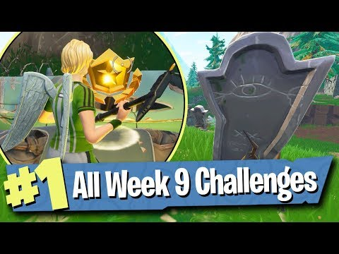 Fortnite WEEK 9 CHALLENGES Guide (Haunted Hills Treasure Map) - Fortnite Battle Royale