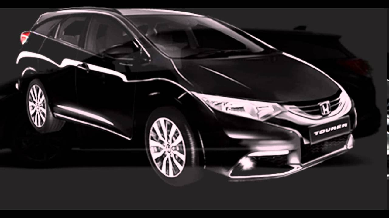 Merveilleux 2016 Honda Civic Tourer Crystal Black Pearl