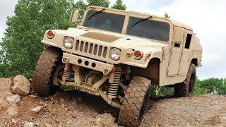 Американский военный автомобиль Humvee HMMWV, обзор военной техники США 2015