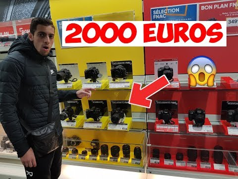 ON ACHÈTE UNE NOUVELLE CAMERA A 2000 EUROS !? VLOG