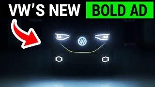 VW's Bold EV Ad Addresses Dieselgate Scandal Head On