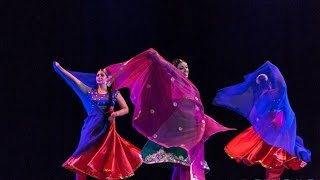 BOLLYWOOD WITH DUPATTA by Veronica Aishanti and some students