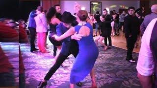 Adriana & Julian Social Salsa Dancing @ HSC!