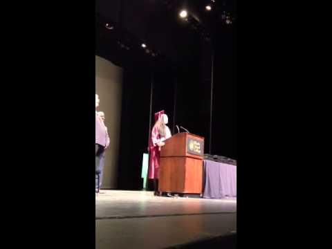 LeeShonel singing the National Anthem @ Alvarez High School's Graduation 2013