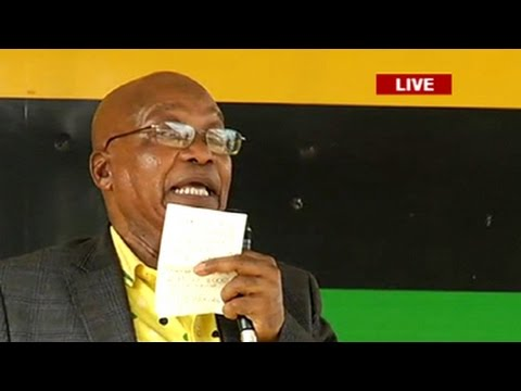 President Zuma addresses eDumbe municipality residents