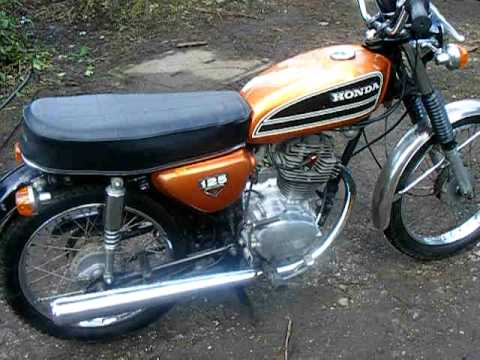 1974 Honda Motorcycle For Sale