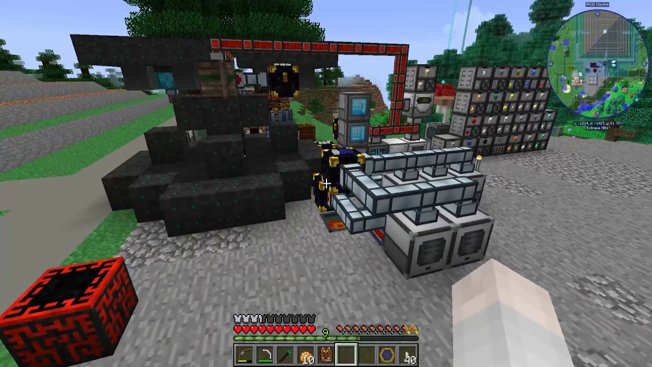 Lets Play Direwolf20 V2 2+ 1 12 2 - Episode 16 - Thaumcraft Taint Seed