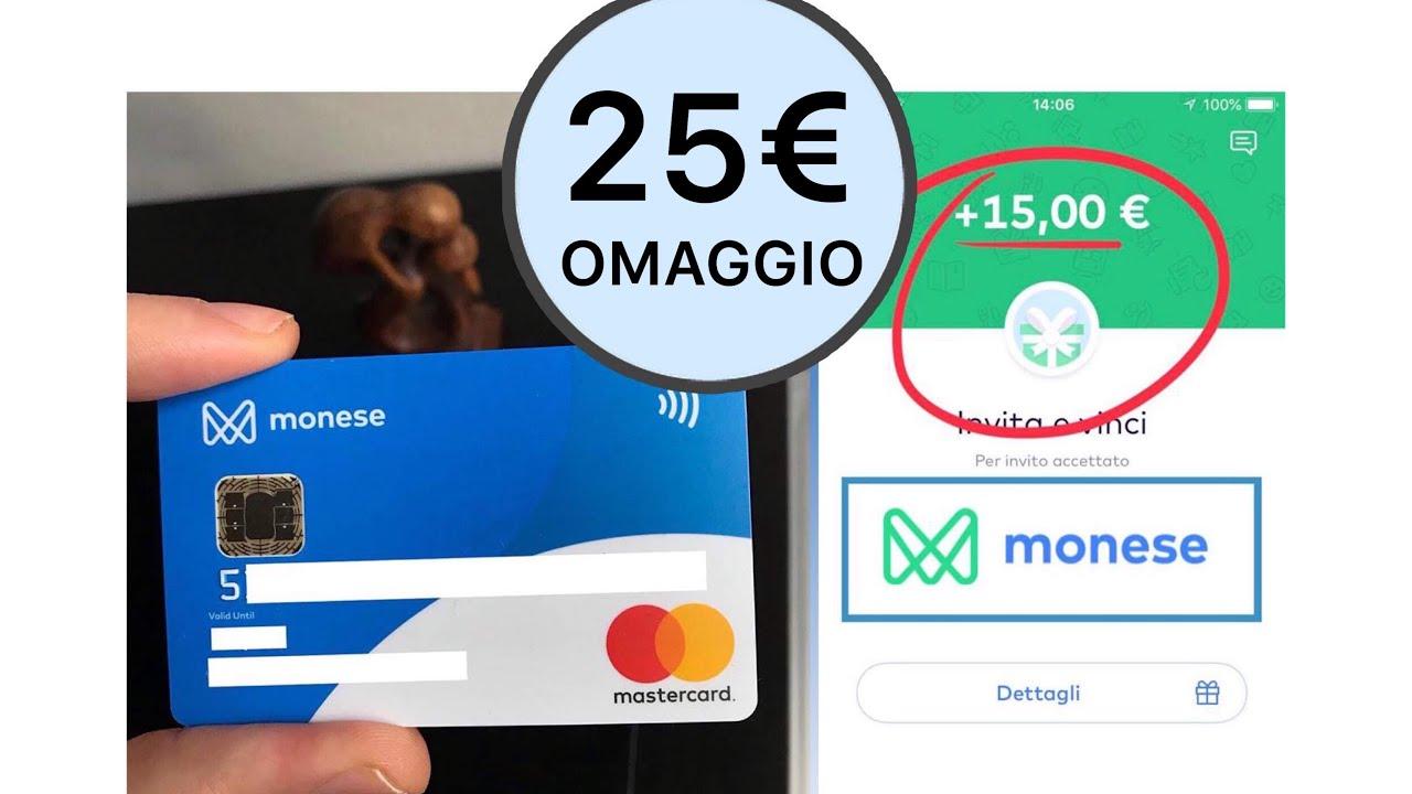 Guadagnare Online Seriamente: MONESE: 15€ omaggio codice bonus ...