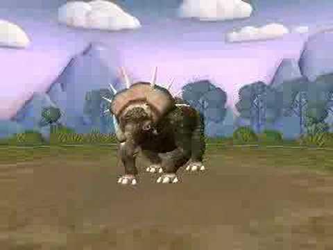 Spore Styracosaurus