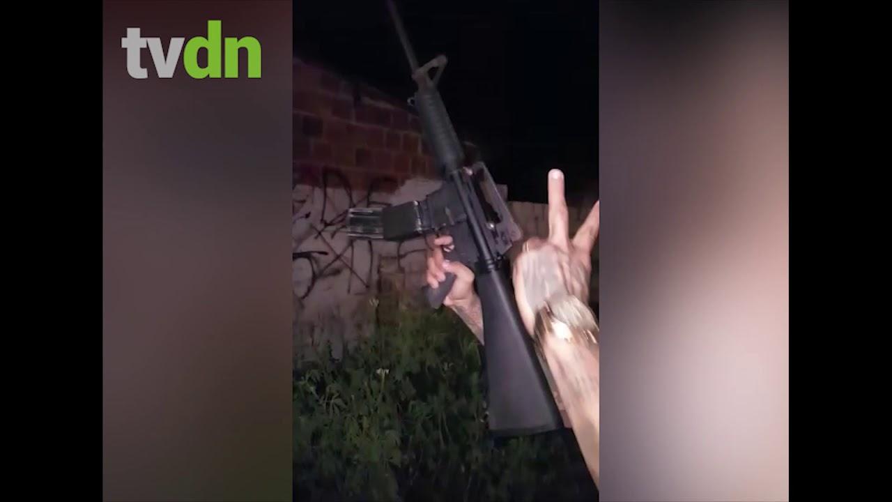 Facção fortemente armada tenta tomar território rival e suspeitos acabam presos
