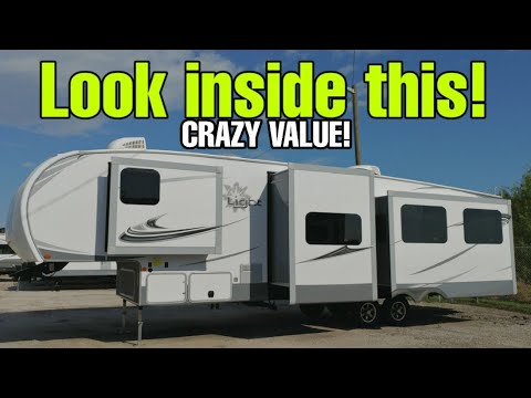 2 Bedroom! CRAZY SPECS On This Fifth Wheel RV From Highland Ridge