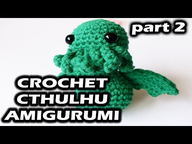 Cthulhu Free Amigurumi Pattern From Call Of Cthulhu Craft Detonation