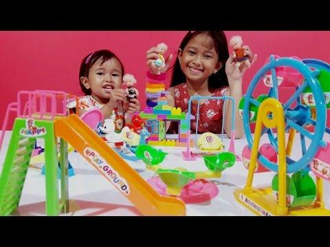 Mainan Taman Bermain 🎡 MAINAN ANAK PEREMPUAN 💖 Let's Play 💖 Jessica Jenica 💖