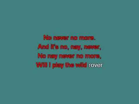 Wild Rover [karaoke]