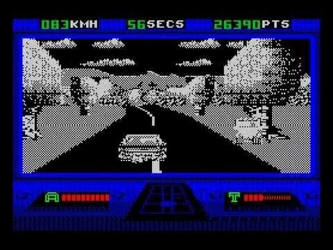 Out Run Europa Walkthrough, ZX Spectrum