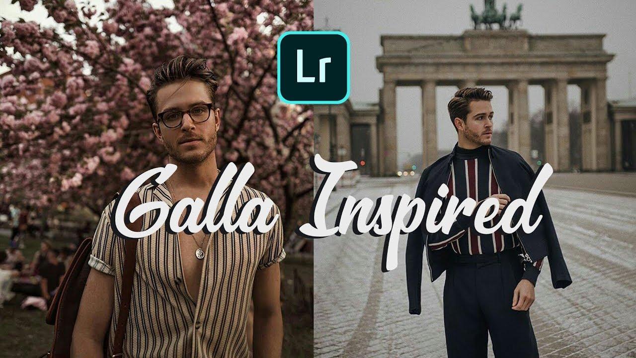 How to Edit Like @iamgalla Instagram | FREE Lightroom Mobile preset