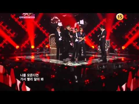 HD  Hyuna feat. Block B Zico - Just Follow  Live