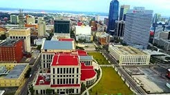 Drone Jacksonville, FL Downtown and Courthouse