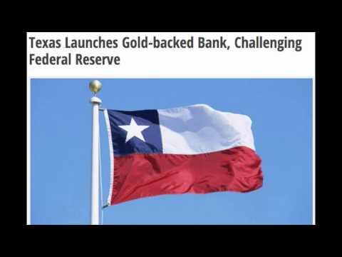 Texas Launches Gold backed Bank, Challenging Federal Reserve