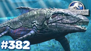 NEW GIANT DUNKLEOSAURUS!!! | Jurassic World - The Game - Ep382 HD