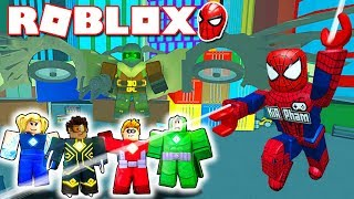 ROBLOX Event | SPIDERMAN-MAN RESCUE THE CITY of ROBLOXIAN-Heroes of Robloxia | KiA Pham