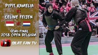 PIPIT KAMELIA VS CELINE FEIJEN | PENCAK SILAT 2018 OPEN BELGIUM
