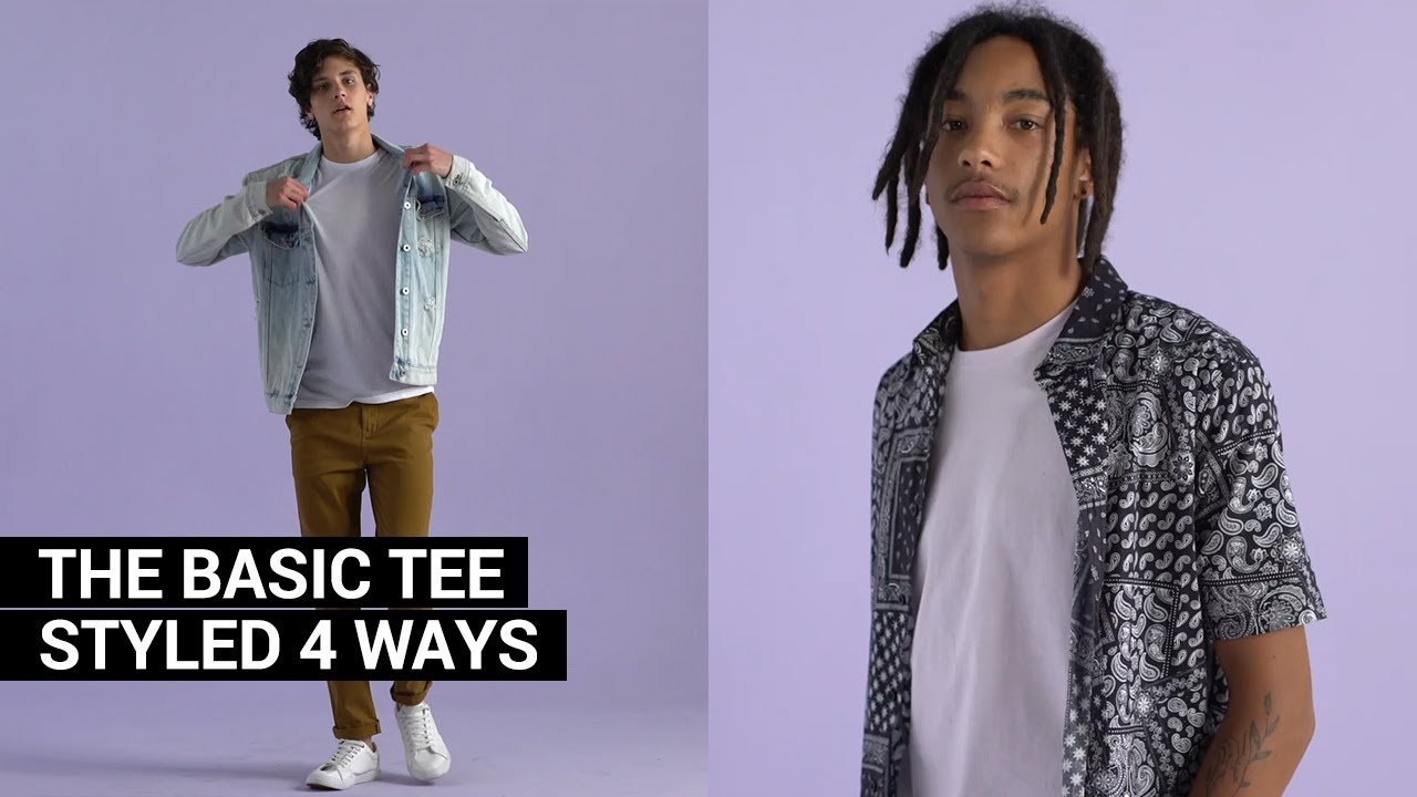 How to style up the classic tee | MRP Style Tricks
