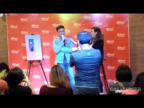 Juan Miguel Severo Book Launch Interview at National Book Store Glorietta