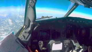 Boeing 737-800 Cockpit video full flight LTCE - LTFJ