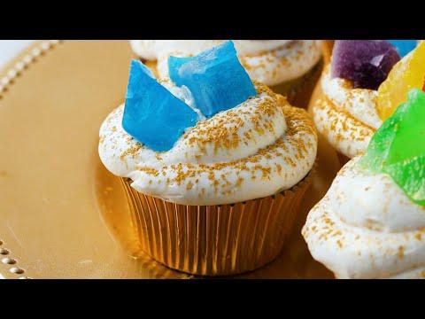 Infinity Stone Cupcakes For Avengers: Endgame •Tasty