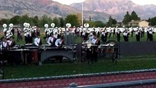 American Fork Marching Band Family night 2011