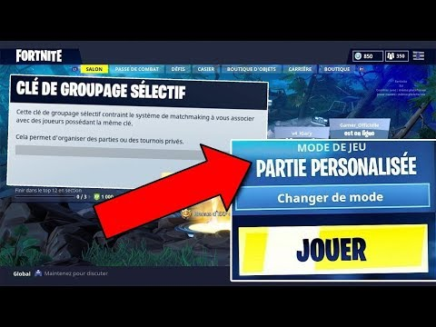 partie-perso-ouvert-a-tous-!-[pc/ps4/xbox/mobile/switch]-[🔴live-#fortnite-🇫🇷]