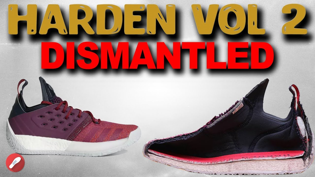 bdf82458fa2 Adidas Harden VOL. 2 DISMANTLED! What s The Tech Inside   - YouTube