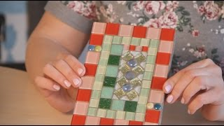 «Ручная работа». Панно из мозаики (10.05.2017)...