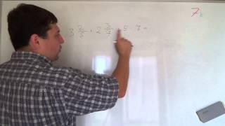 Алгебра 7 класс. 2 сентября. Вычислите наиболее рациональным способом