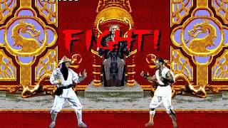 Mortal Kombat - Rayden (Sega Genesis) (By Sting)