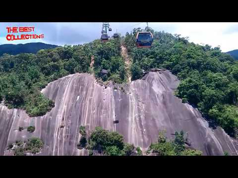Longest and highest non-stop cable car-Ba Na Hills, Vietnam