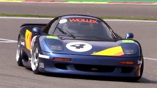 1991 Jaguar XJR-15 V12 Sounds & Action at the Spa Classic 2018!