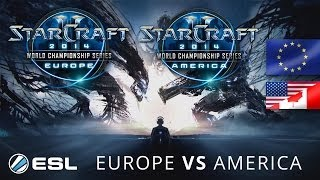 Europe vs. America - WCS 2014 Season 1 - StarCraft 2