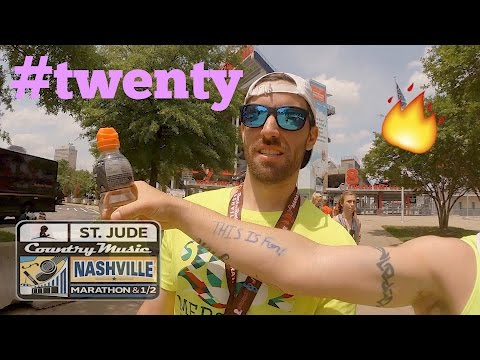 Heat and Hills of 2017 Nashville Marathon | VLOG #TWENTY