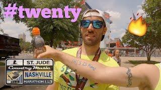 Heat and Hills of 2017 Nashville Marathon | VLOG #TWENTY