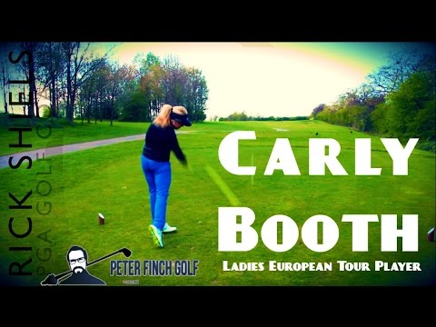CARLY BOOTH - PRO GOLFER COURSE VLOG